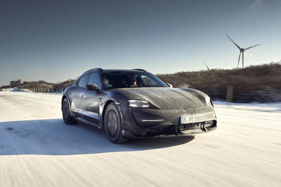 Porsche Taycan Cross Turismo rij-impressie